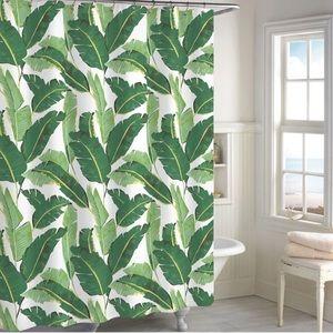 ✨Palm leaf shower curtain | Destinations